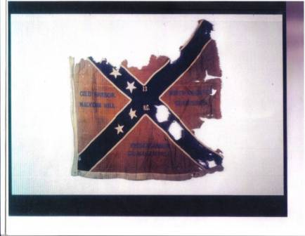 13th NC battle flag