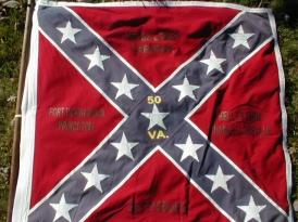 50th VA Infantry battle flag