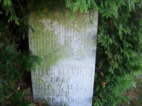 allen blevins headstone