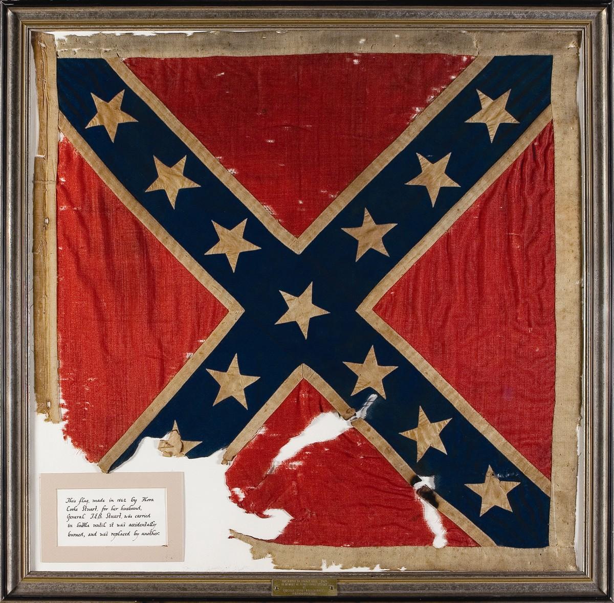 Gen.Stuart-personal battle flag for VA Cav