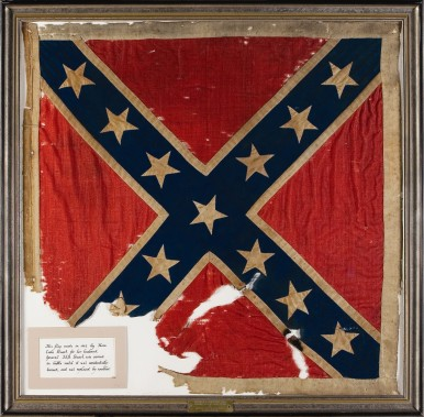 Gen.Stuart-personal battle flag for VA Cav