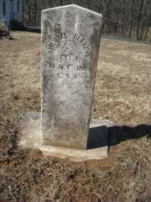 shubiel blevins headstone