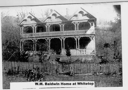 Home of Wm M Baldwin