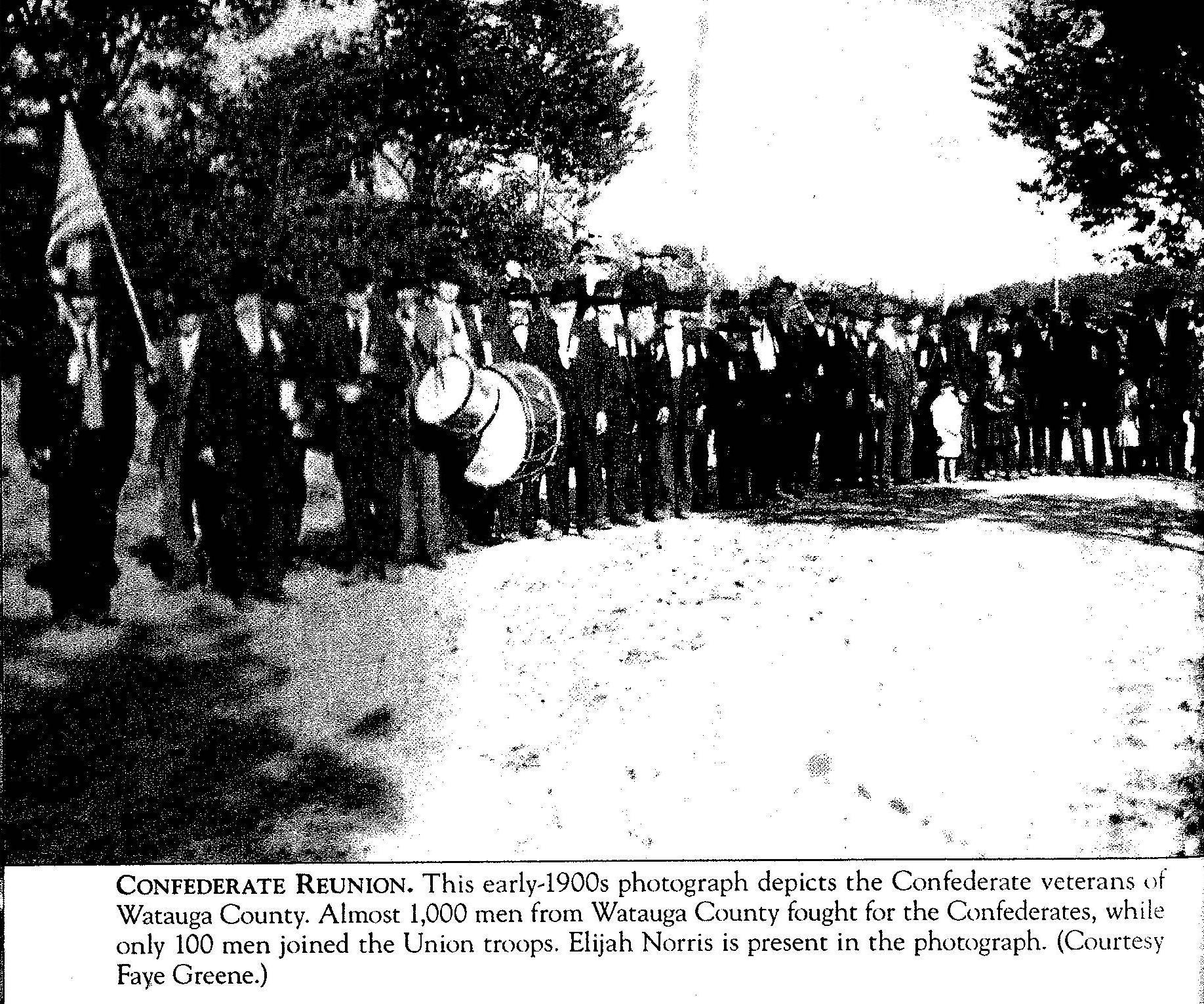 watauga confederates