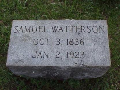 SamuelAWatterson_headstone